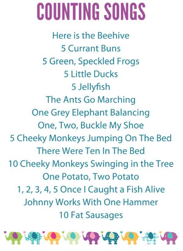 Lyric bumble bee song lyrics : 15 Preschool Counting Songs, Fingerplays & Rhymes | Pre-school ...