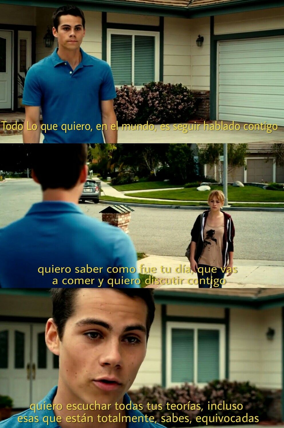 Pelicula The First Time Dylan O Brien Frases Famous
