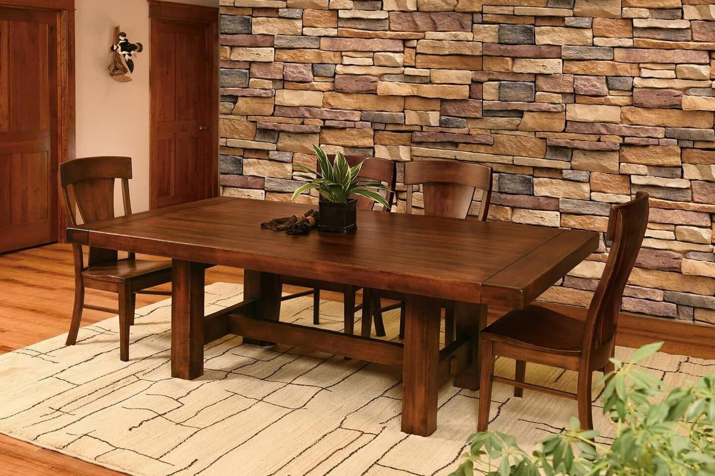 Deutsch Amish Furniture Amish Dining Table | Furniture ...