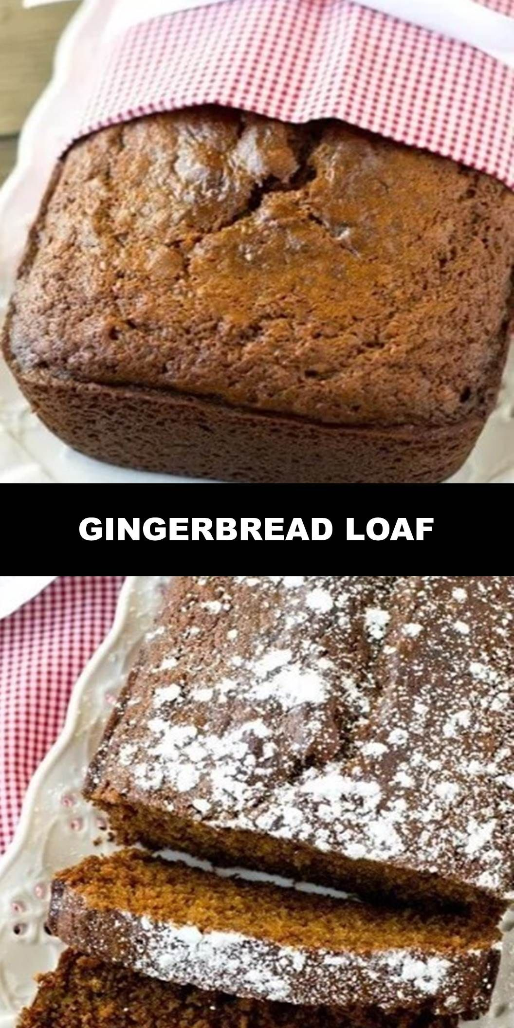 The World's Most Delicious Gingerbread Loaf  Soft, moist, molasses quick bread is perfectly seasoned with ginger and nutmeg. Gingerbread Loaf gives that classic holiday flavor that you love!