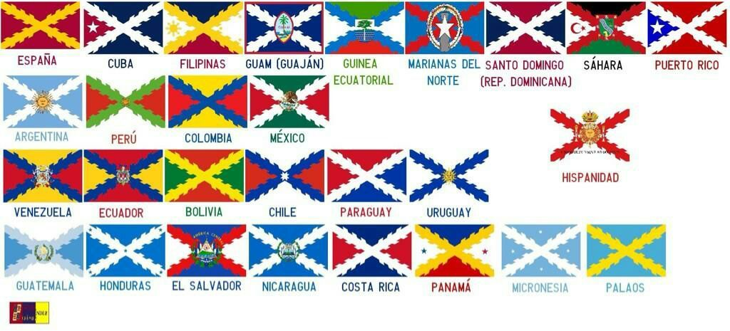 817fee84554 The Spanish Empire had St. Andrew s flags ( i.imgur.com