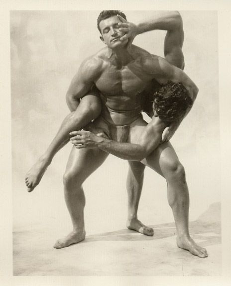 Vintage Boy Naked Wrestling