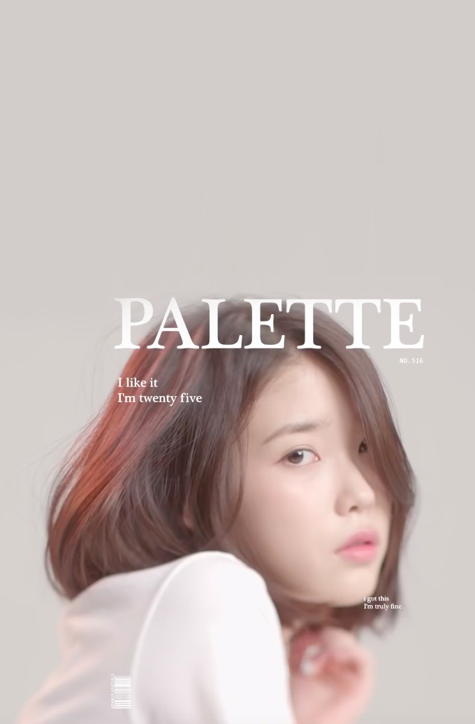 Iu Wallpaper Palette Korean Beauty Aesthetic Wallpapers Iu Fashion