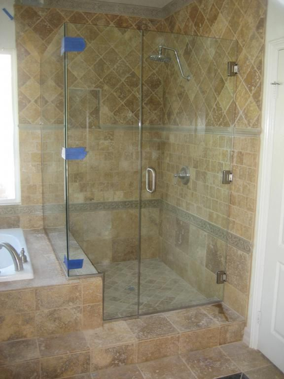 Small Corner Shower With Built In Bench Bathrooms Remodel Bathroom Decor Boys Bathroom