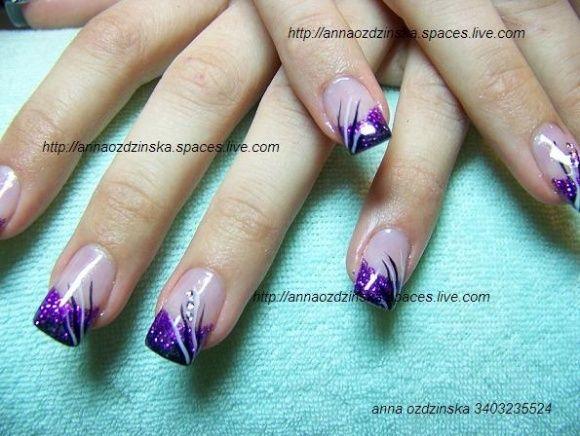 Ben noto sparkly nails art | RICOSTRUZIONE UNGHIE GEL ,ACRILICO ,NAIL ART E  DO91