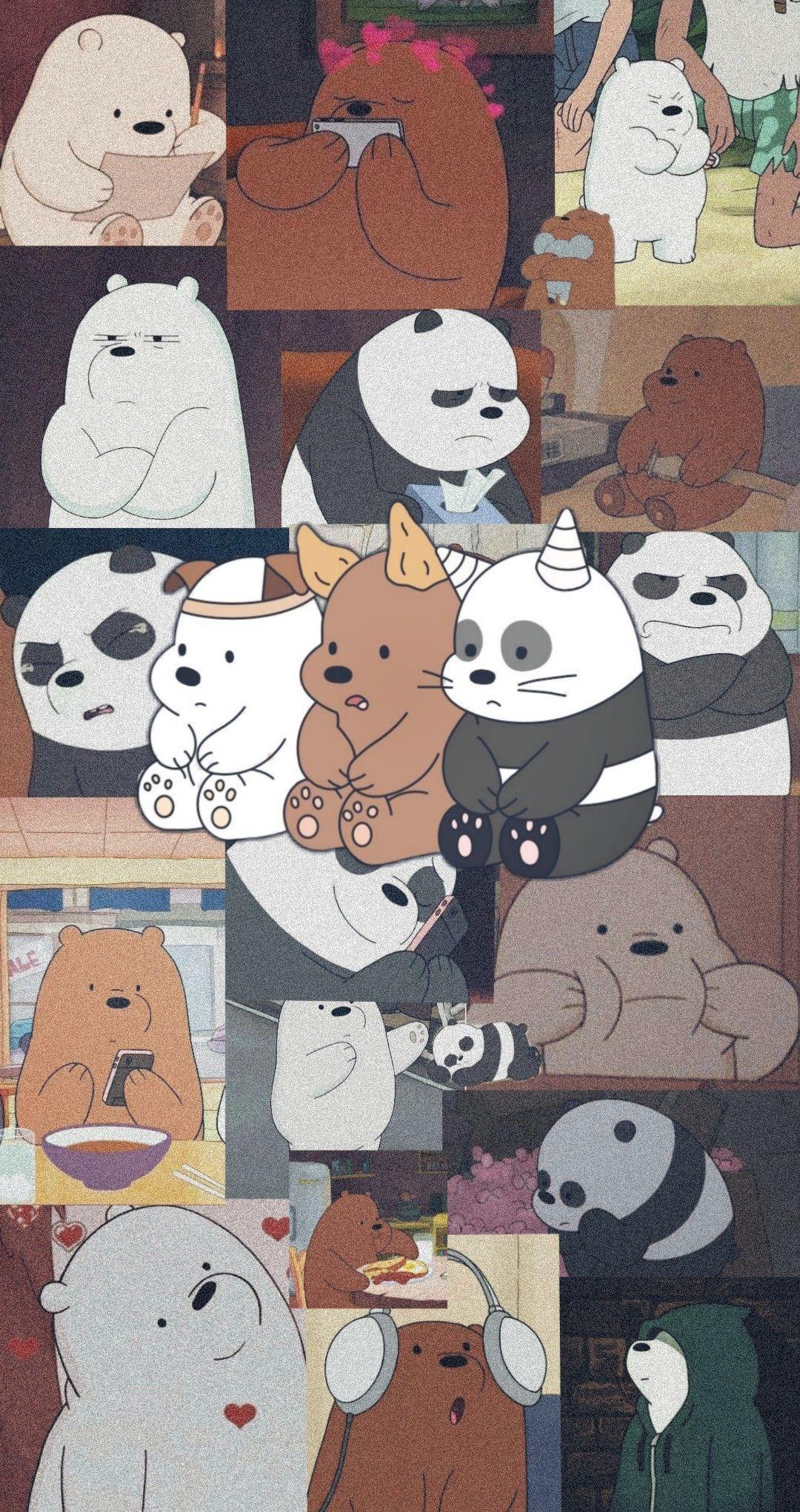 We Bare Bears Wallpaper Duvar Kağıtları