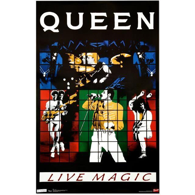 Check out Queen Live Magic Poster on @Merchbar.