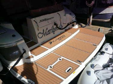 our customer michael just installed a custom seadek kit on his 320 our customer michael just installed a custom seadek kit on his 320 express by cruisers yachts