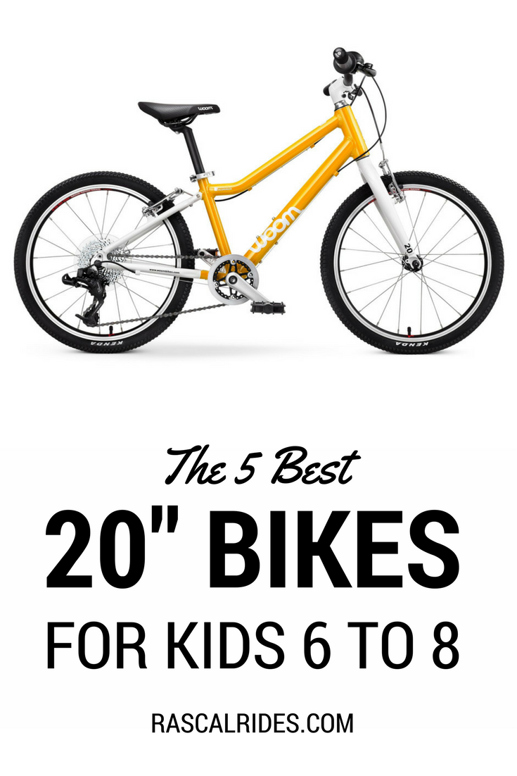 5 Best 20 Inch Bikes For Your 6 To 8 Year Old 2020 Kids Bike