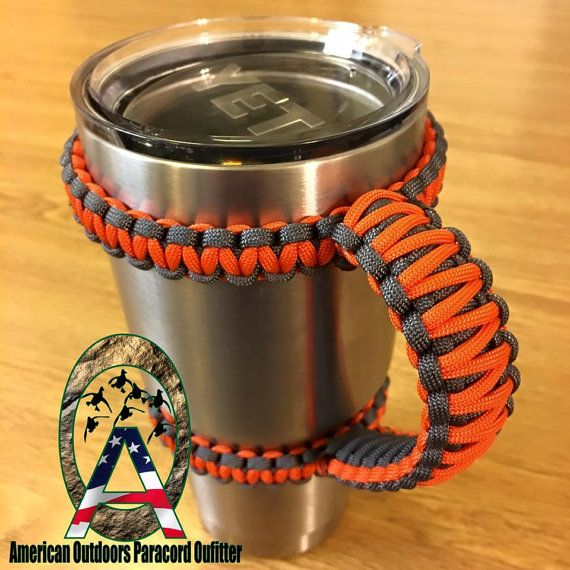 20oz And 30oz Yeti Handles Orange Color By