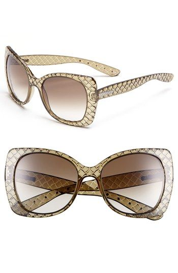 Fancy oversized frames from Bottega Veneta