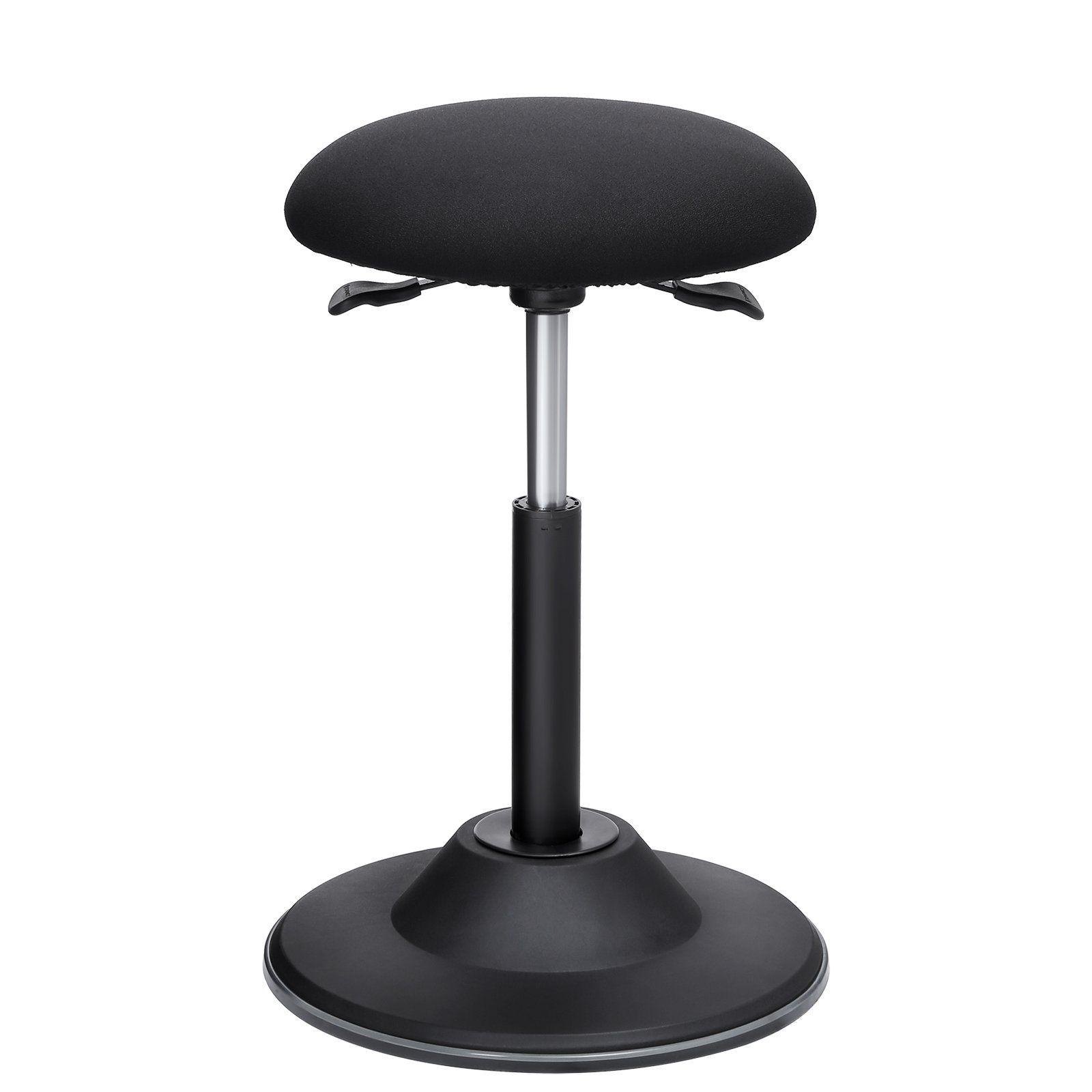 Songmics standing desk chair adjustable height ergonomic