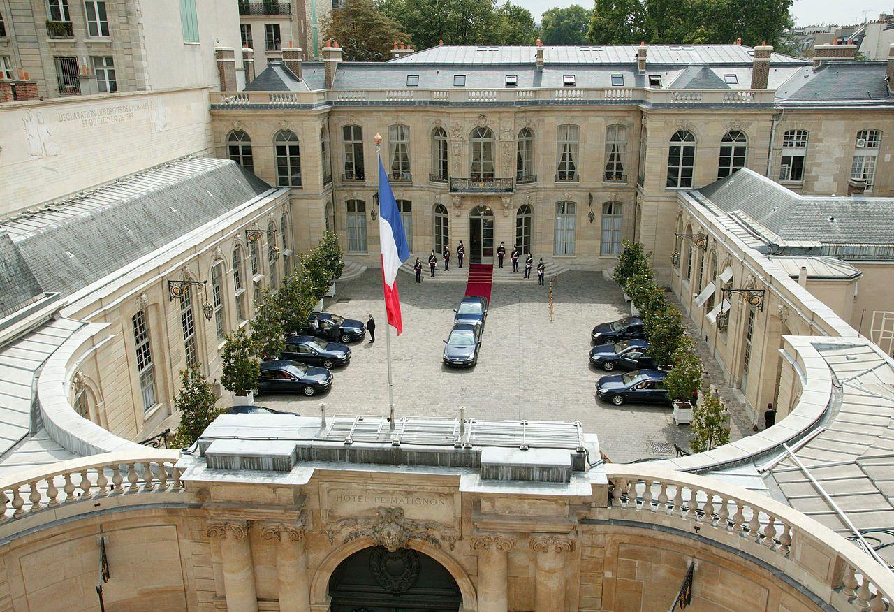 H U00f4tel De Matignon  1724  57  Rue De Varenne Paris 75007