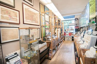 WardMaps LLC - Old Map Store in Porter Square | Antique Maps Prints and Gifts | Boston Map Dealer