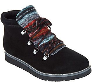 Skechers Bobs Alpine Knit Detail Hiking Boots S'mores