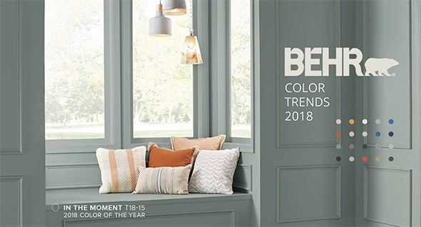 office makeover with behr s 2018 color of the year paint on home office paint colors 2021 id=63008