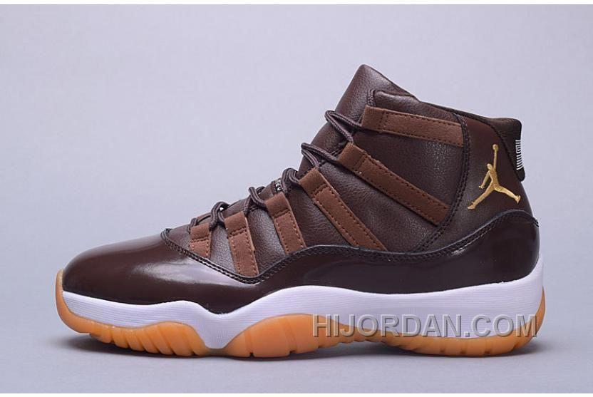 433e002485ecb9 Air Jordan 11 Hamilton Chocolate Gum Top Deals 3iZTkk  MensFashionSneakers