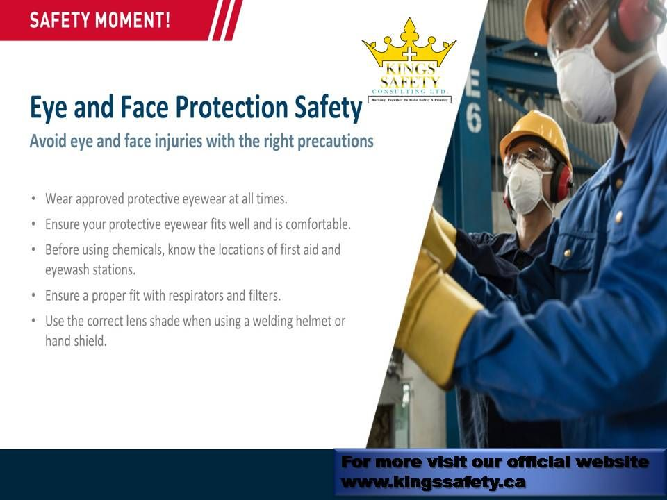 Choose safety with kingssafety in 2020 Face protection