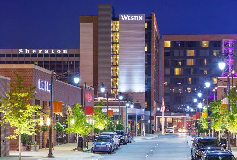 Sheraton Birmingham And The Westin Birmingham Hotel Complex With