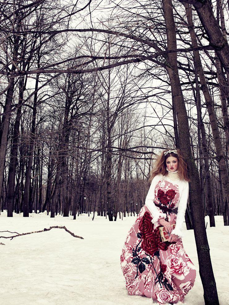 Lindsey Wixson by Emma Summerton for Vogue Japan December 2013 6