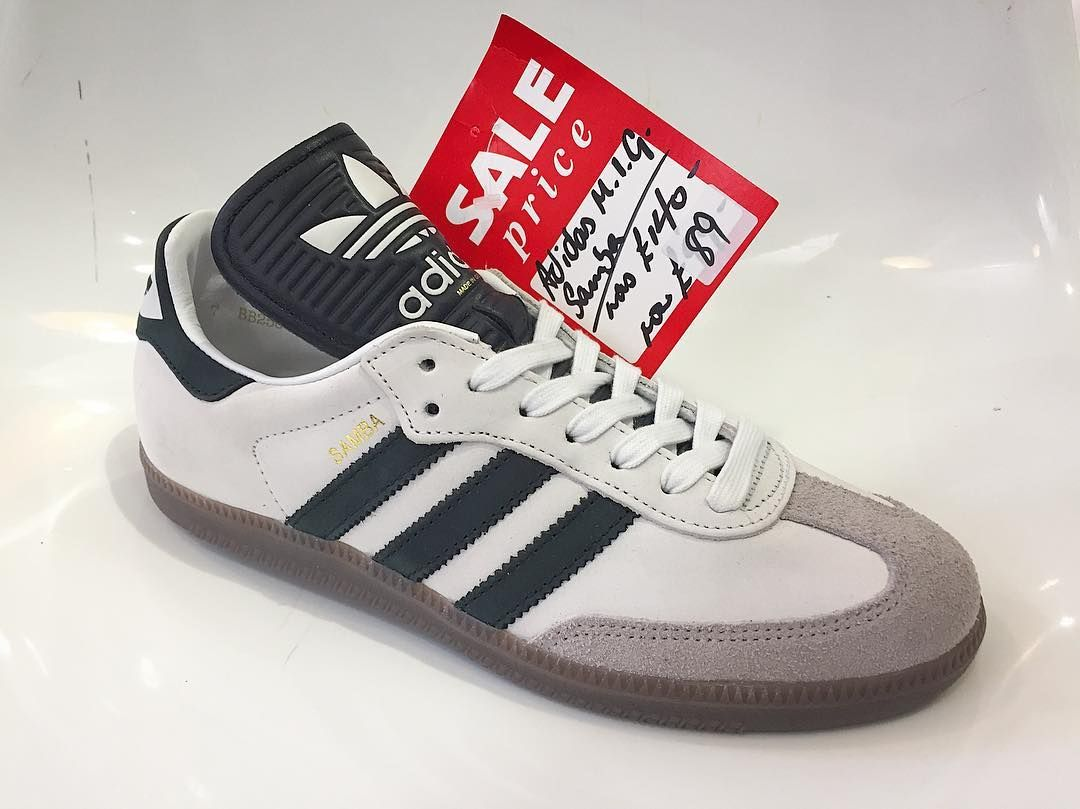 b9fd994fb Made in Germany  Samba  from the SS17 adidas Originals vintage range - now  89 in store and online.  adidas  adidasoriginals  adidasvintage  samba ...