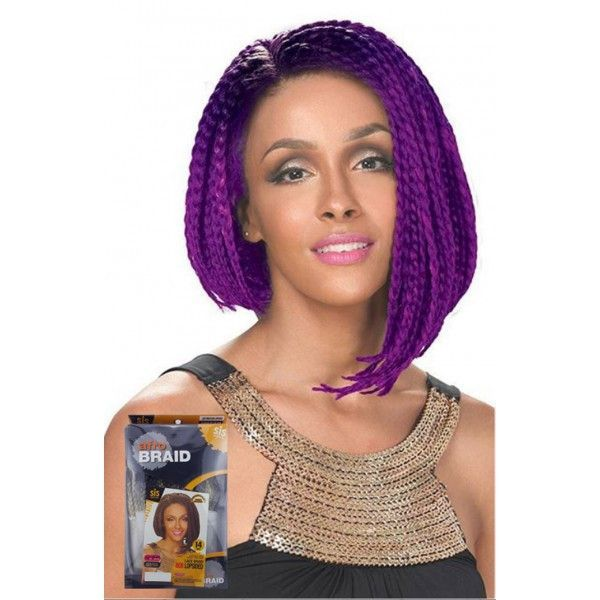 Zury Hollywood Sis Afro Braid Lace Front Wig - BOB PIXIE 6