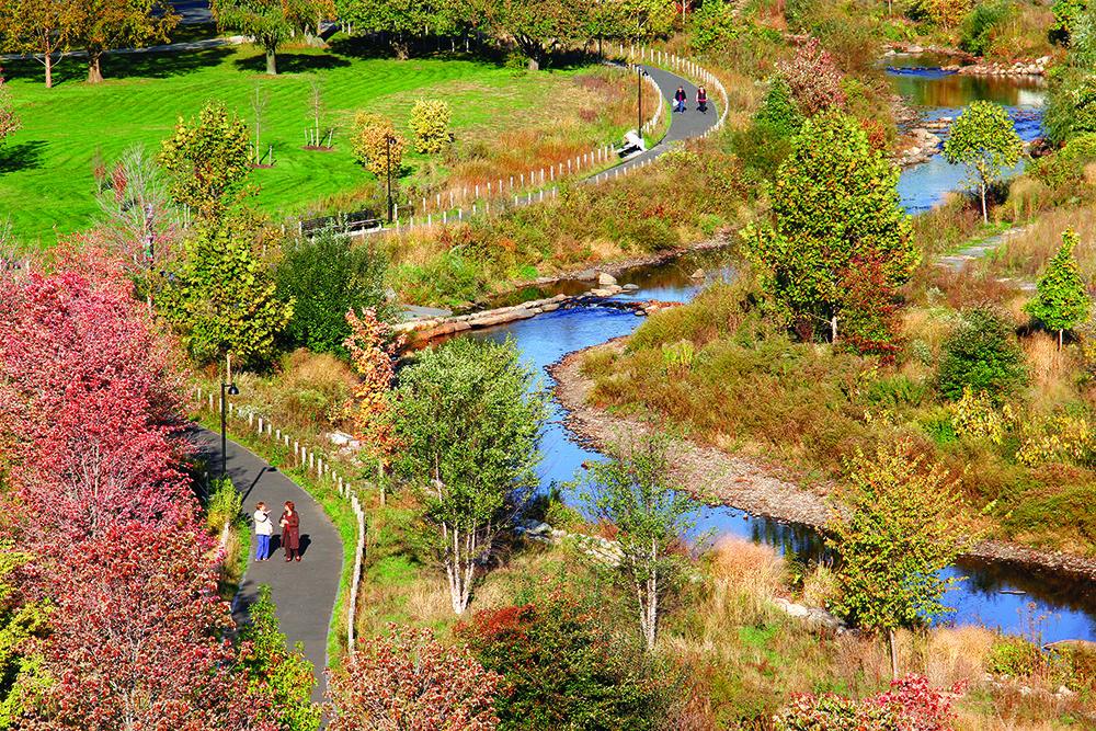 Ulx Waterfront Open Spaces Landscape Architecture Diagram River Park River