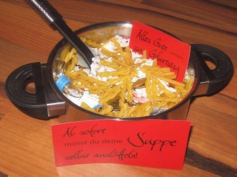 Geldgeschenk suppe selbst ausl ffeln jugendweihe for Jugendweihe geschenke basteln