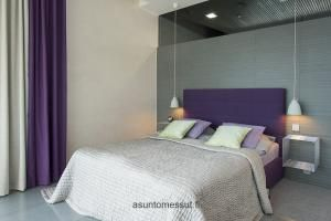 Aeroc-kivitalo Louhi - Makuuhuone