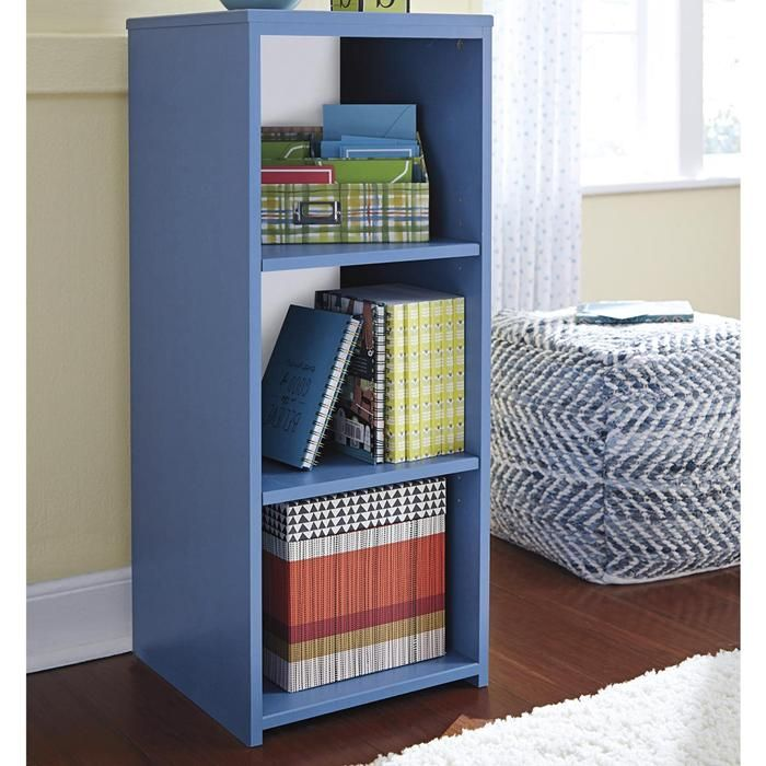 Signature Design by Ashley Bronilly 3-Shelf Bookcase in Blue