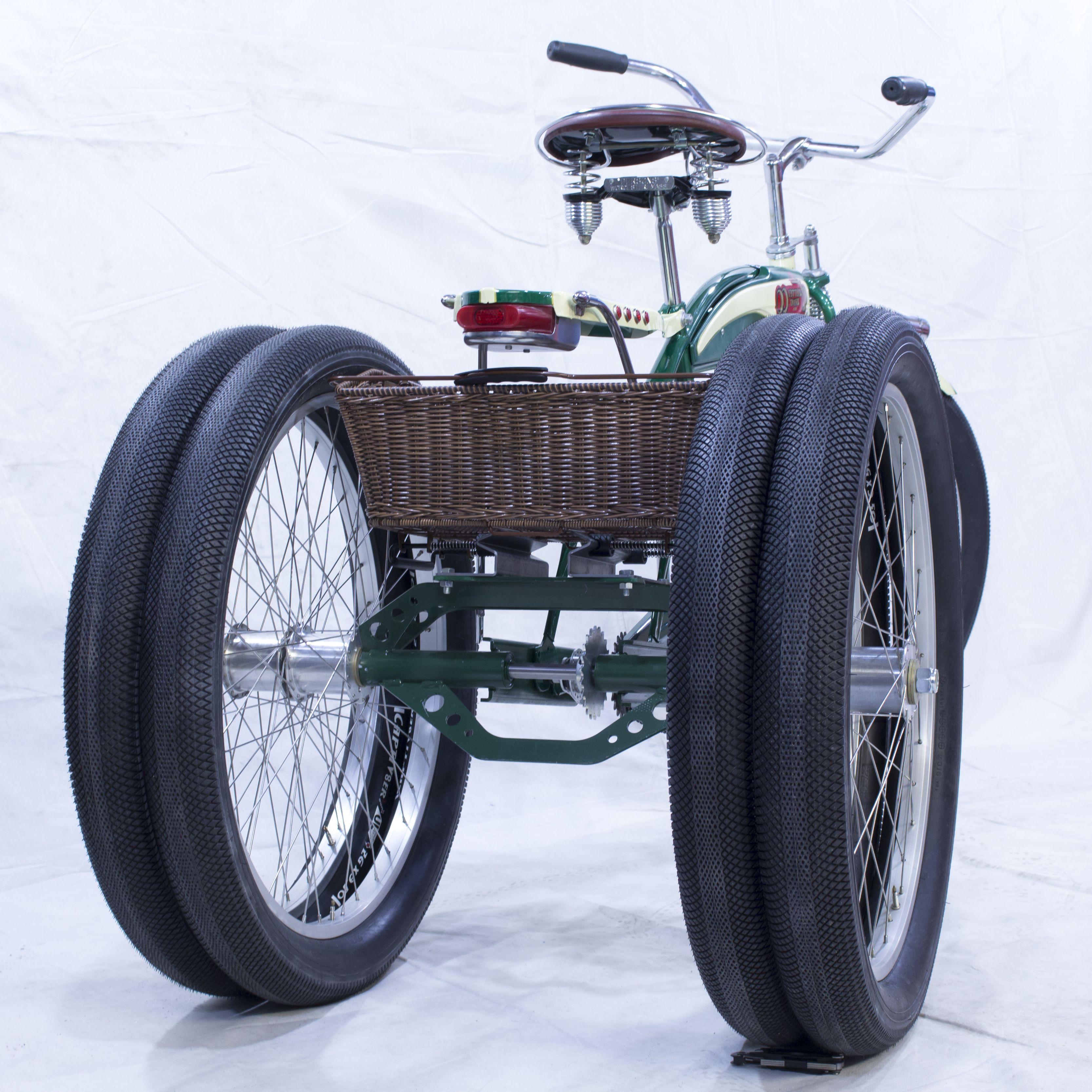 Beach Cruiser Fat Tire Trike Fatbike Vintage Custom