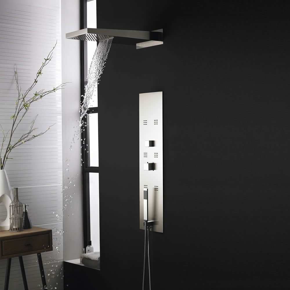 Enjoy A Sensational Showering Experience With The Hudson Reed Thermostatic  Shower Panel