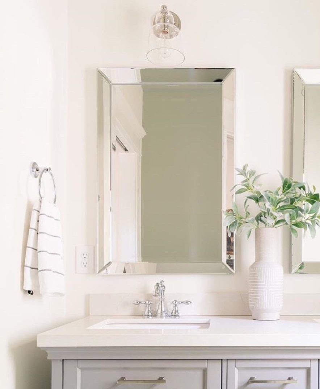 Homesense On Instagram Oh Hello Gorgeous Find The Myhomesense Mirror Of Your Dreams Starti Mirror Antique Brass Sconces Framed Bathroom Mirror