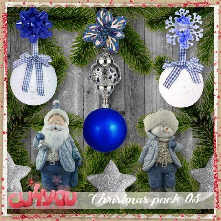 Christmas commercial use pack 3 by Scrap'Angie