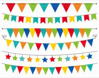 Party banner. Free download birthday clipart
