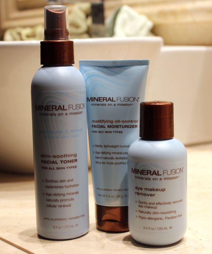 Mineral Fusion S Vegan Skin Care Products With Images Mineral