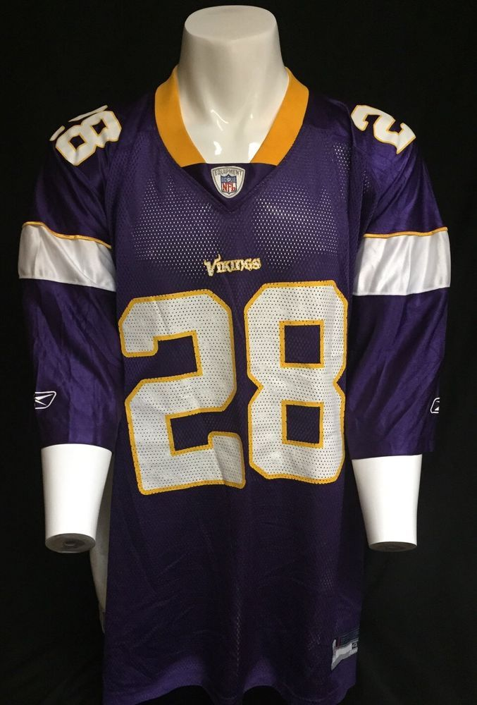 Adrian Peterson Minnesota Vikings Reebok XXXXL NFL Equipment Jersey  for cheap