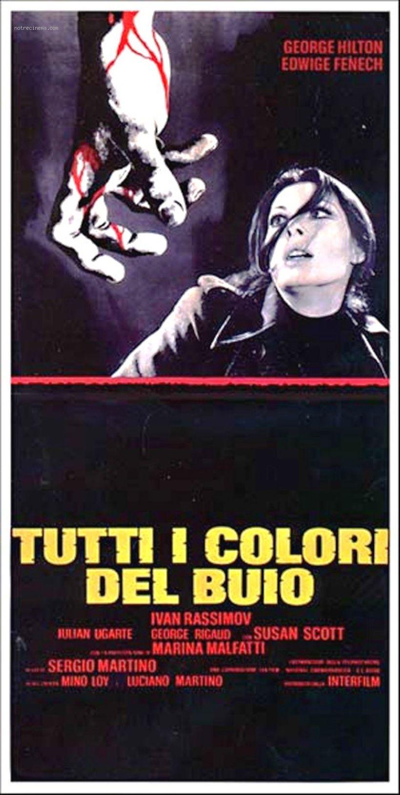 Tutti i colori del buio. Sergio Martino, 1972
