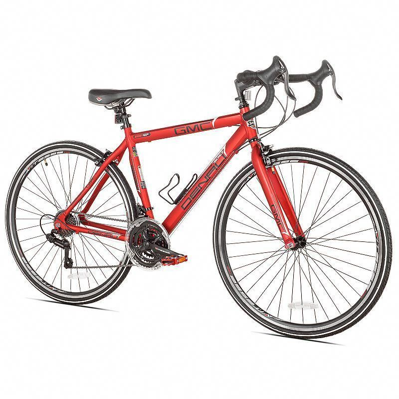Men S Gmc Small Frame 700c Denali Road Bike Red Bikeaccessories