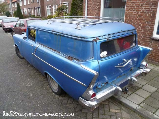 Chevy 210 Wagons 1957 Chevy Handyman Wagon Parts Vintage Muscle Cars Station Wagon Chevy