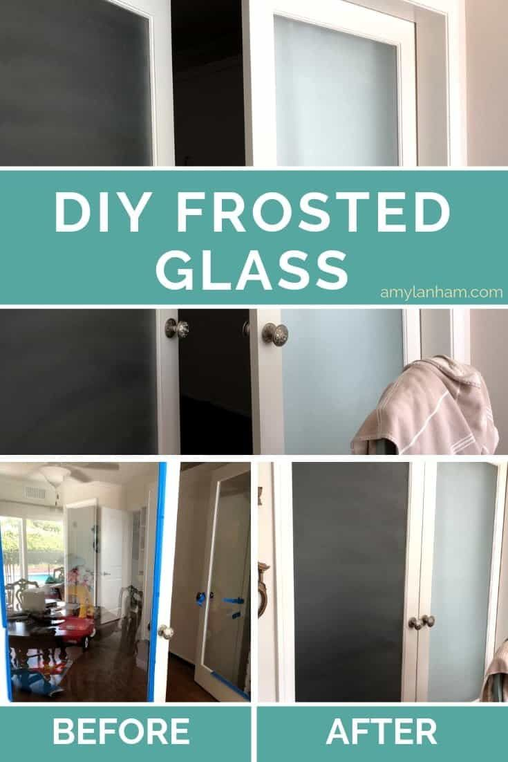 Frosted glass paint how to frost glass