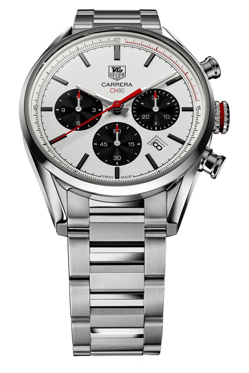 5daf58868f12 TAG Heuer Carrera Calibre CH 80 Watch  Return To The 1960s Classic watch  releases