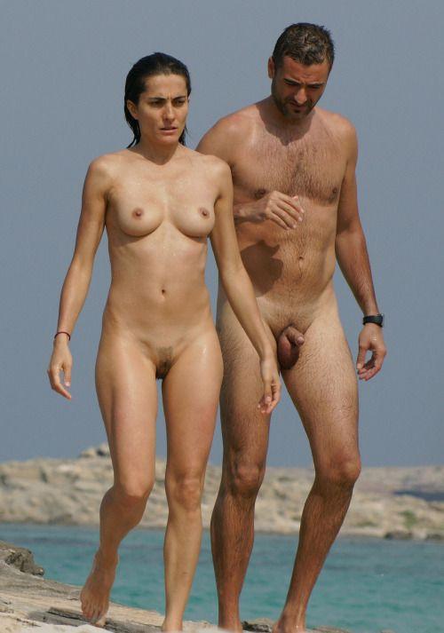 nude couples sex on beach