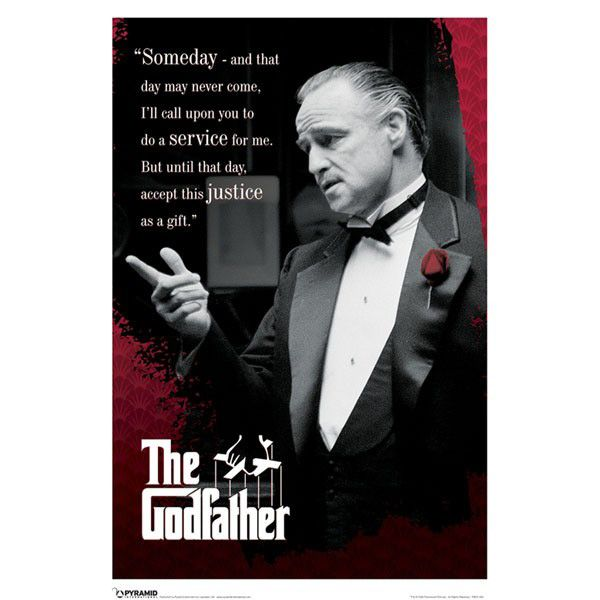 The Equalizer 2 Movie Quotes: Image Of The Godfather Quote Poster