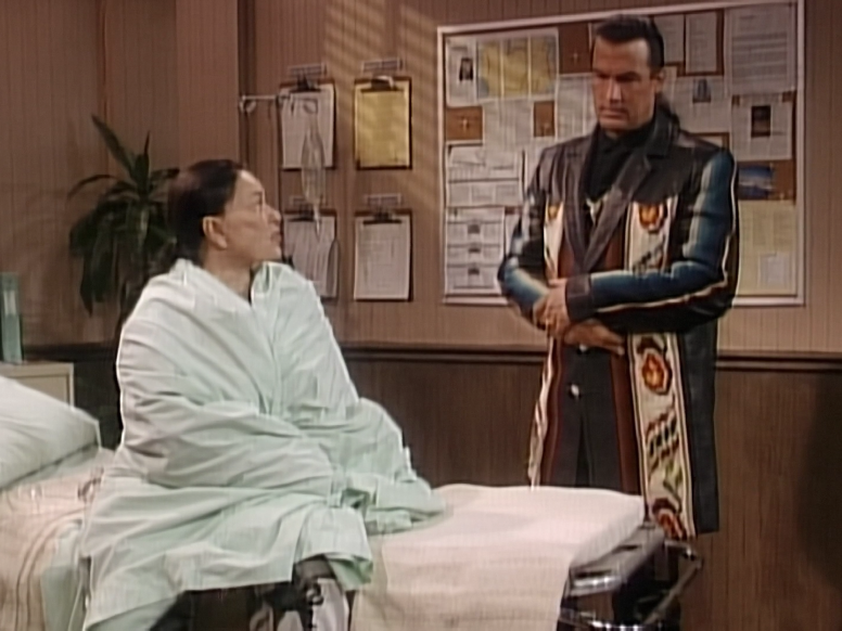 31 Celebrities You Probably Forgot Guest Starred On Roseanne Steven Seagal Appeared As An Apparition To Roseanne In The Hos Celebrities Steven Seagal Stars