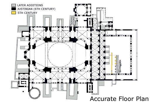 Image Result For Hagia Sophia Floor Plan