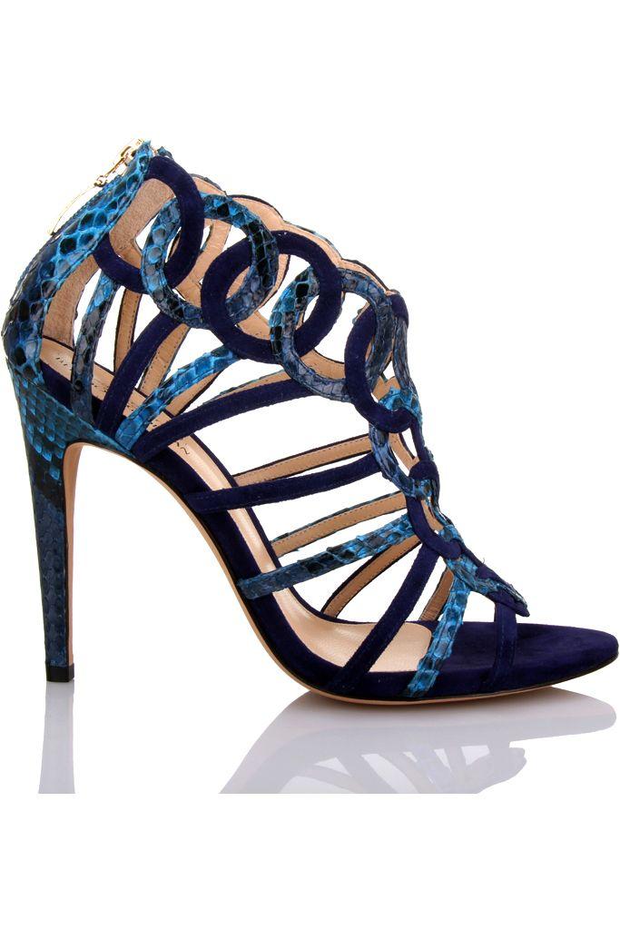Alexandre Birman Blue Sandals Shoes