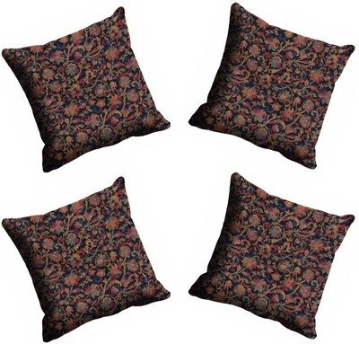 Mesleep Black Abstract Cushions Cover Pack Of 4 Cushion Covers on Shimply.com