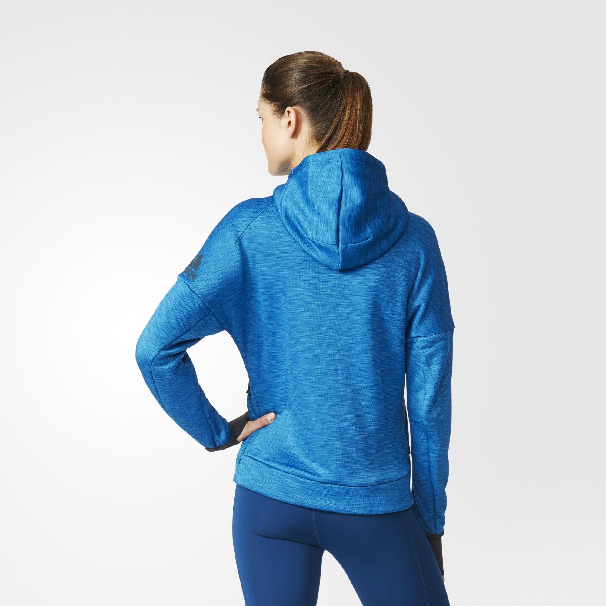 Adidas Z N E Climaheat Hoodie Hoodies Womens Women Hoodies Sweatshirts Hoodies [ 2000 x 2000 Pixel ]