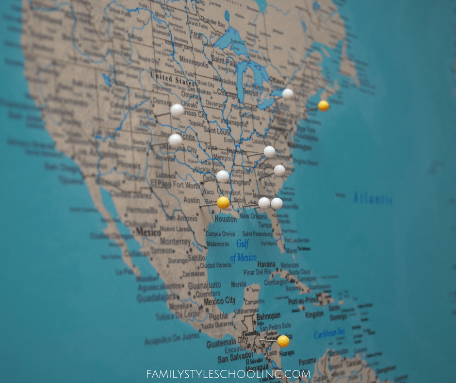 Push Pin Travel Maps are a beautiful